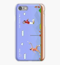 Lin Dan vs Lee Chong Wei - Mario Style iPhone Case/Skin