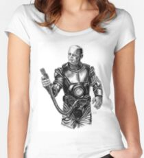 Kryten from Red Dwarf Women's Fitted Scoop T-Shirt