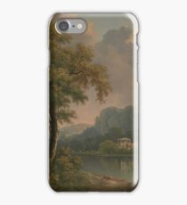 Wooded Hilly Landscape by Abraham Pether iPhone Case/Skin