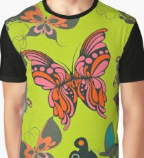 Butterfly Pattern 4 Graphic T-Shirt