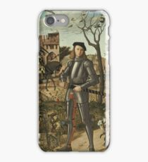 Young Knight in a Landscape 1510 by Vittore Carpaccio iPhone Case/Skin