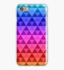 Rainbow Tri-Pattern iPhone Case/Skin