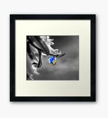 Falling Sky Framed Print