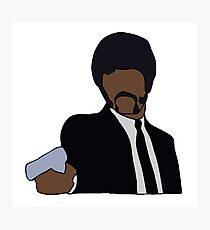 Jules Winnfield Pulp Fiction Photographic Print