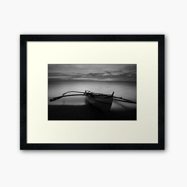 Bangka Framed Art Print