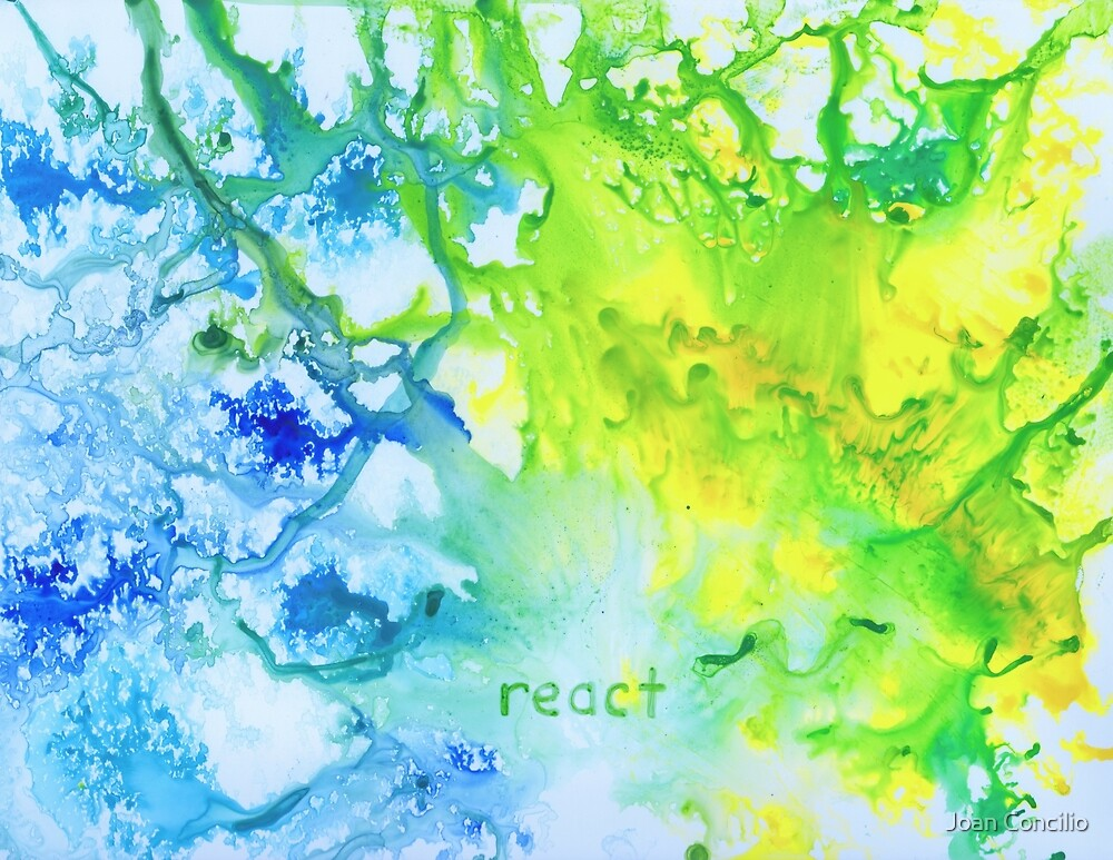 React by Joan Concilio