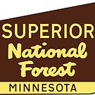 SUPERIOR NATIONAL FOREST SIGN MINNESOTA FISHING HIKING CAMPING by MyHandmadeSigns