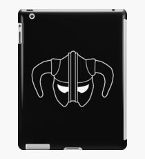 Skyrim Helmet (Black) iPad Case/Skin