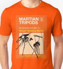 Owners Manual - HG Wells Martian Tripod Unisex T-Shirt