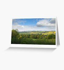 Aston Magna, Gloucestershire Greeting Card