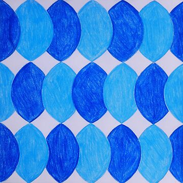 Blue Waves - Inspired by Azulejos by samby