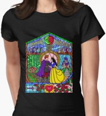 Little Snowdrop Womens Fitted T-Shirt