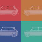 Pop Art  Cars by emilypigou