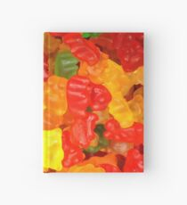 colorful sweet tooth foodie candy gummy bear  Hardcover Journal