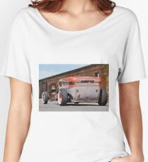 1932 Ford 'Lo Down and Dirty' Rat Sedan Women's Relaxed Fit T-Shirt