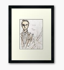 Why Don't You Come Out and Play? Framed Print