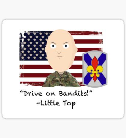 Drive on Bandits- 256 IBCT Sticker