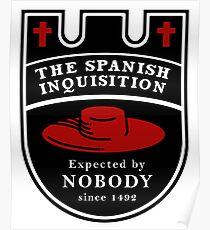 Spanische Inquisition Unerwartet seit Poster
