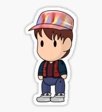Scribblenauts 2015 Marty McFly Sticker