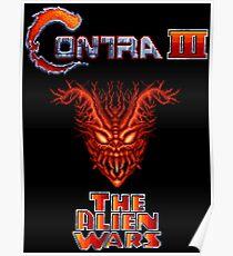 Contra III: The Alien Wars (SNES) Poster