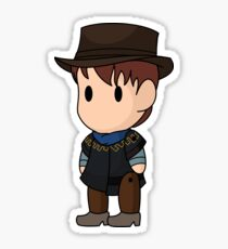 Scribblenauts 1885 Marty McFly Sticker