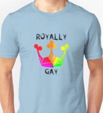 LGBTQ Royally Gay Pride Unisex T-Shirt
