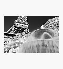 No. 20, La Tour Eiffel de Vegas Photographic Print