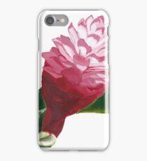 Pink Hawaiian Ginger Painting iPhone Case/Skin