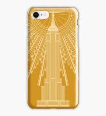 Empire State Building in Gold iPhone Case/Skin