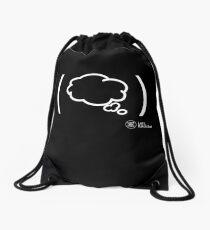 Dreaming White Drawstring Bag