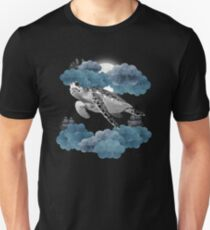 Oceanic Sky - Sea Turtle Unisex T-Shirt