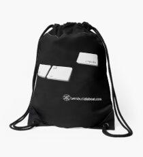 Ctrl-Alt-Create Drawstring Bag