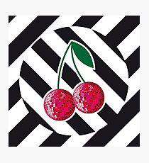 Disco cherry Photographic Print