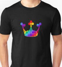 LGBTQ Rainbow Crown Pride Unisex T-Shirt