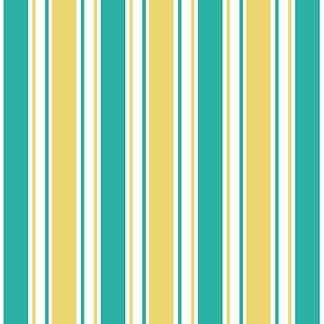 Yellow,Green And White Stripes Pattern by semas