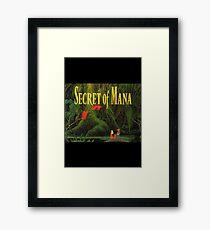Secret of Mana Poster Framed Print