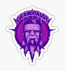 Grandaddy purple Sticker