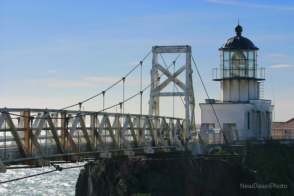 Point Bonita Lighthouse by NewDawnPhoto