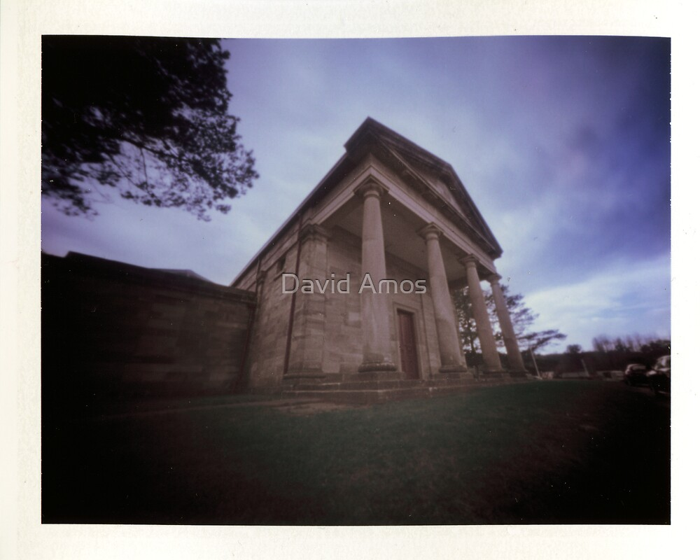 Berima VIII - Polaroid Pinhole by David Amos