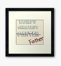 World's Greatest Father Framed Print