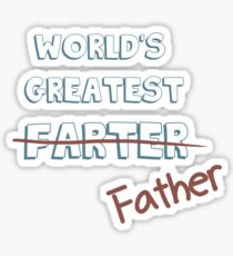 World's Greatest Father Sticker