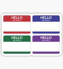 hello Autocollants  Sticker
