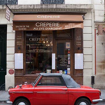 Autobianchi in Paris by flosmith