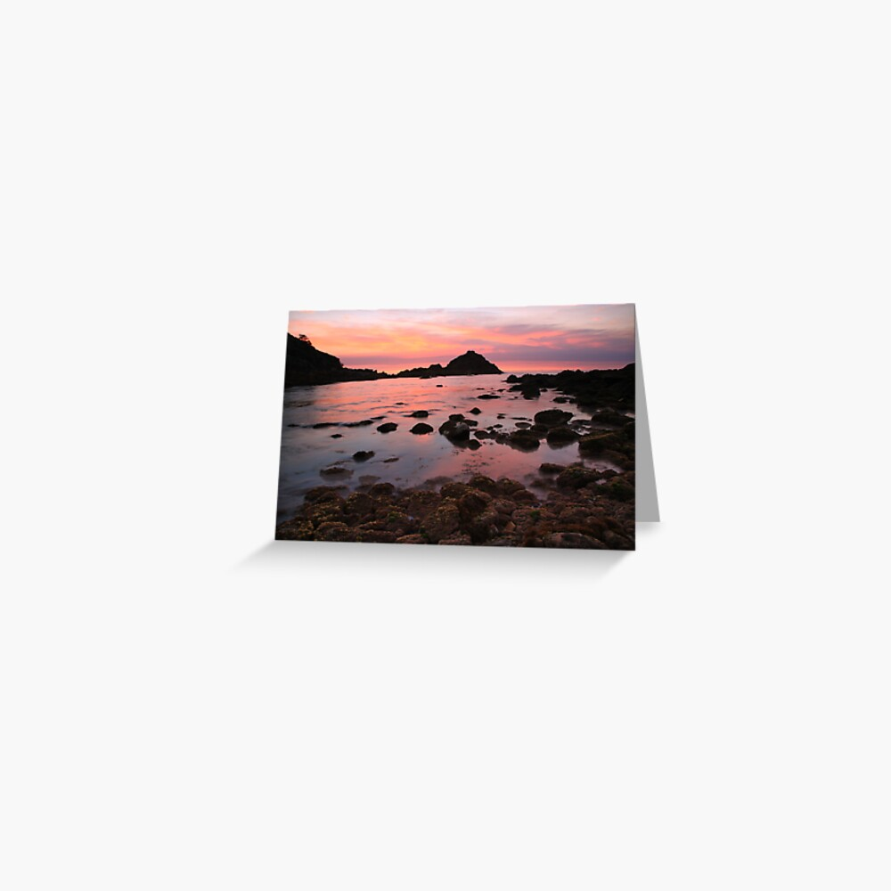 A new day dawns, Mallacoota, Victoria, Australia Greeting Card