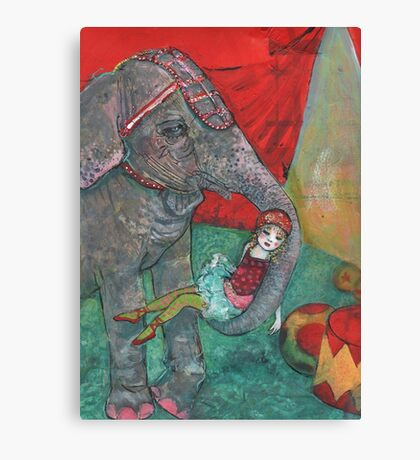Harriet And Circus Girl Canvas Print