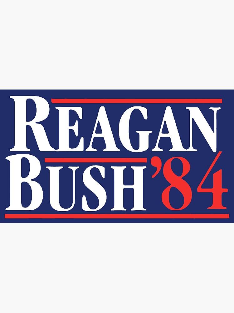 Reagan Bush 84 by andrewcb15