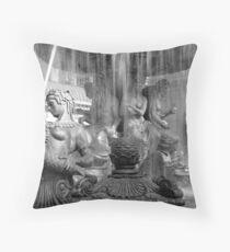 No. 2, La Fontaine des Mers (Vegas) Throw Pillow