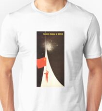 "Soviet Propaganda - ""Through the Worlds and Ages!"" Unisex T-Shirt"