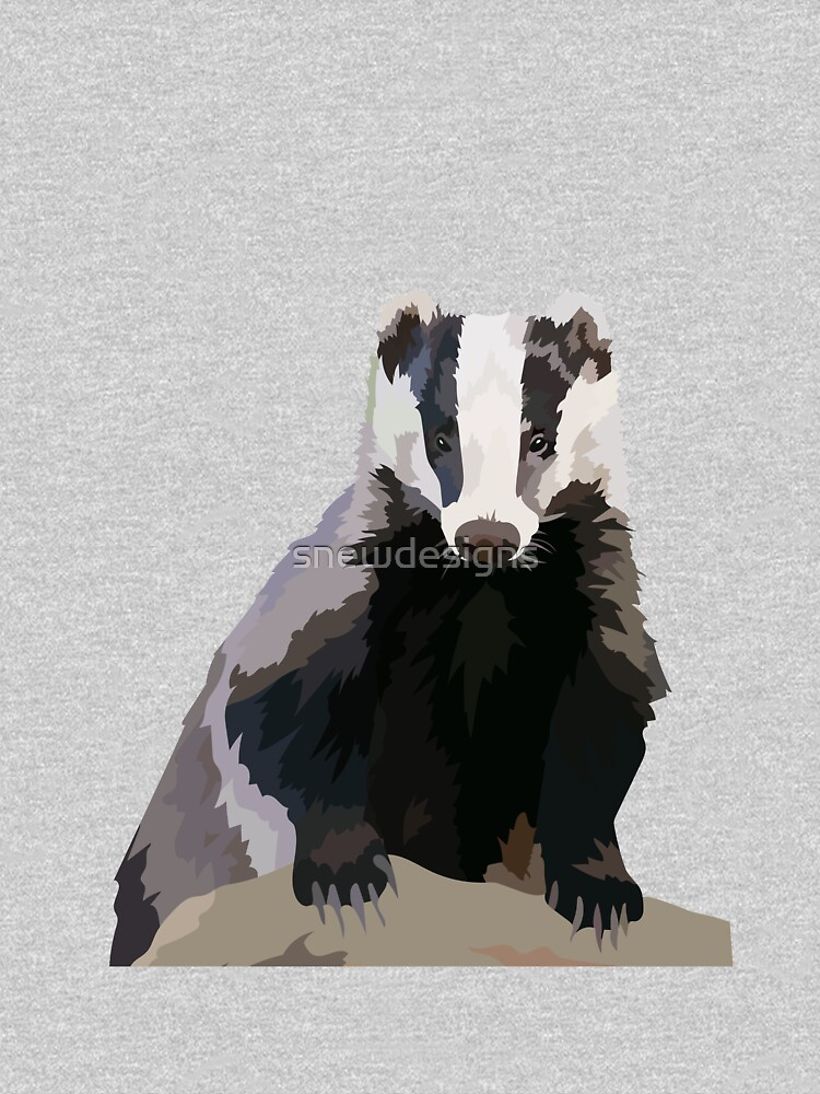 Badger by snewdesigns