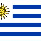 Uruguay Flag Products by Mark Podger